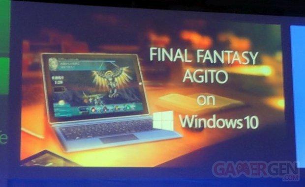 Final Fantasy Agito Windows 10
