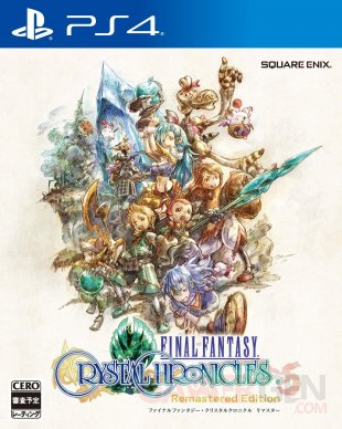 Final Fantasy Crystal Chronicles Remastered Edition jaquette Japon PS4 09 09 2019