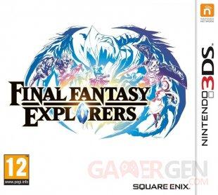Final Fantasy Explorers jaquette