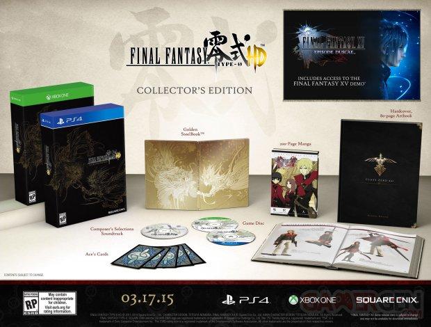 Final Fantasy Type 0 HD edition collector amerique du nord  (1)