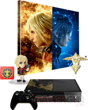 Final Fantasy Type 0 HD edition collector console PS4 Xbox One (1)
