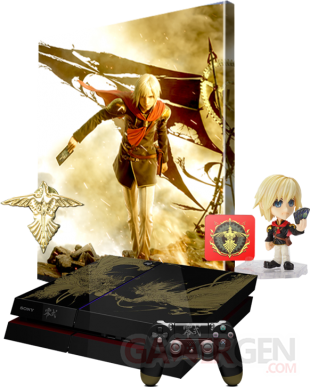 Final Fantasy Type 0 HD edition collector console PS4 Xbox One (2)