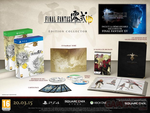 Final Fantasy Type 0 HD Edition Collector Europe