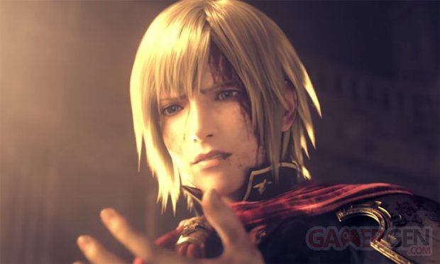 Final Fantasy Type 0 HD head