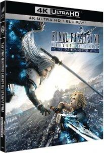 Final Fantasy VII Advent Children Complete Blu ray 4K Ultra HD jaquette date sortie prix