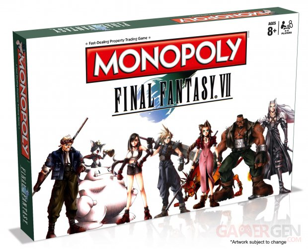 final fantasy vii ff7 monopoly