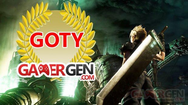 Final Fantasy VII Remake GOTY Image Gamergen