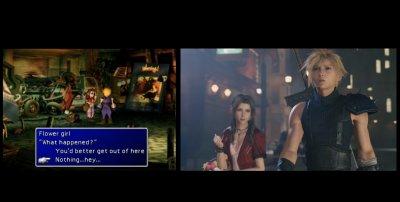 Final Fantasy VII Remake : comparaison avec l'original sur PS1 en vidéo, tout a changé depuis 1997