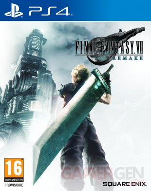 Final Fantasy VII Remake jaquette cover art