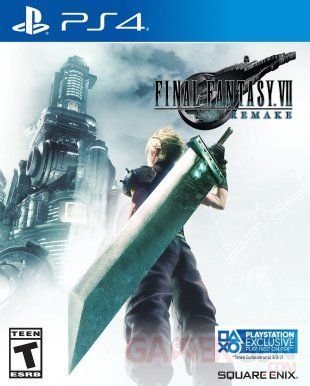 Final Fantasy VII Remake jaquette exclue temporaire image