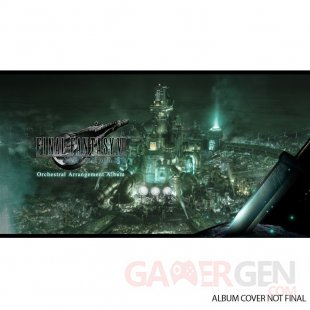 Final Fantasy VII Remake Orchestral Arrangement Album art