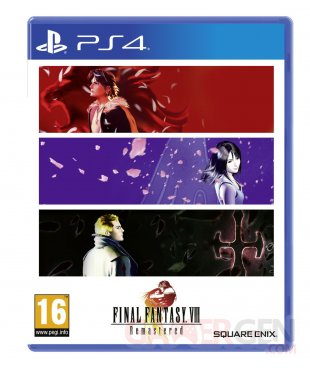 Final Fantasy VIII Remastered jaquette PS4 16 10 2020