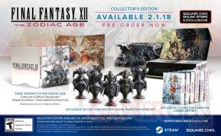Final Fantasy XII The Zodiac Age 11 01 2018 collector
