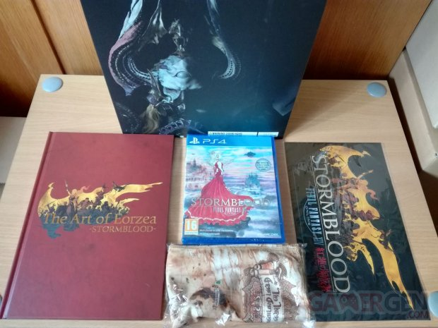 Final Fantasy XIV 14 Stormblood collector unboxing deballage 09 20 06 2017
