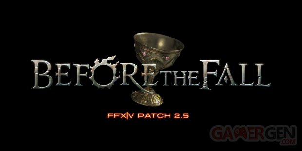 Final Fantasy XIV Before the Fall logo