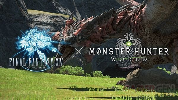 Final Fantasy XIV collaboration Monster Hunter World 04 11 06 2018