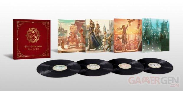 Final Fantasy XIV FFXIV coffret vinyles OST 15 05 2021
