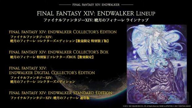 Final Fantasy XIV FFXIV Endwalker récap éditions 01 15 05 2021