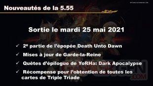 Final Fantasy XIV FFXIV patch 5.55 02 16 05 2021