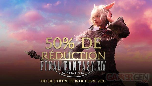 Final Fantasy XIV FFXIV réduction 09 10 2020