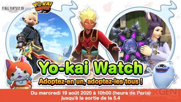 Final Fantasy XIV FFXIV Yokai Watch 18 25 08 2020