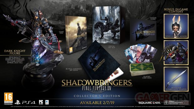 Final Fantasy XIV Shadowbringers collector 02 02 2019