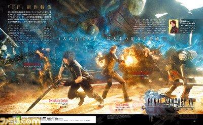 Final Fantasy XV 22 12 2014 Famitsu scan