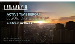 Final Fantasy XV Active Time Report Day 0