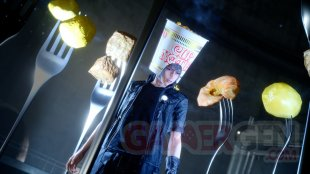 Final Fantasy XV Cup Noodle Headgear screenshot DLC