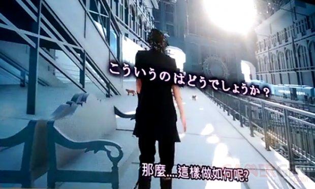 Final Fantasy XV gare Taipei head