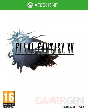 Final Fantasy XV jaquette reversible image (2)