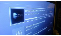Final Fantasy XV patch day one PS4