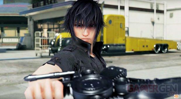 Final Fantasy XV Tekken 7 images