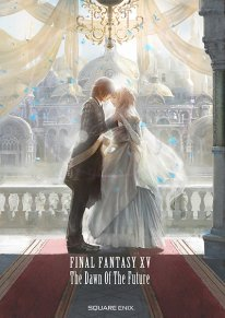 Final Fantasy XV The Dawn of the Future art book livre cover