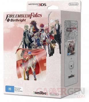 Fire Emblem Fates Birthright Bundle Ike amiibo.
