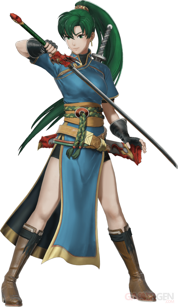 Fire Emblem Warriors Lyn Render