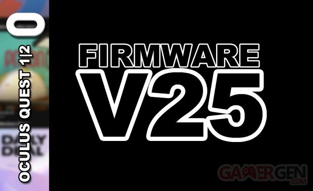 Firmware V25