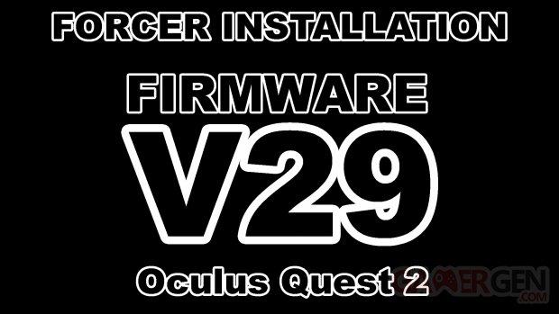 Firmware v29 Quest 2