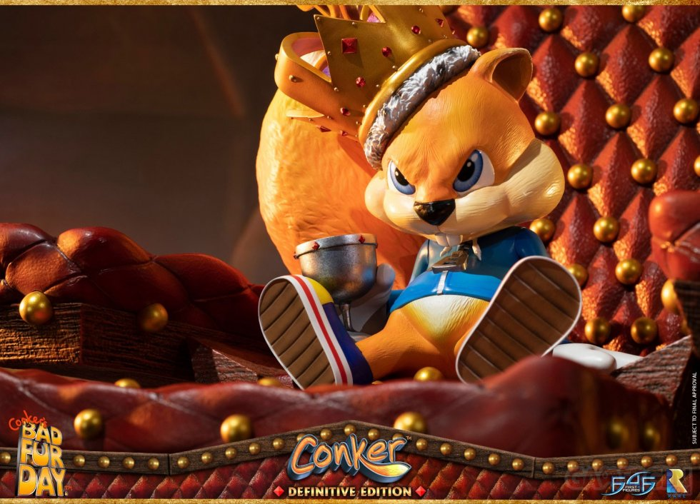 First 4 Figures Conker's Bad Fur Day figurine statuette images (10)