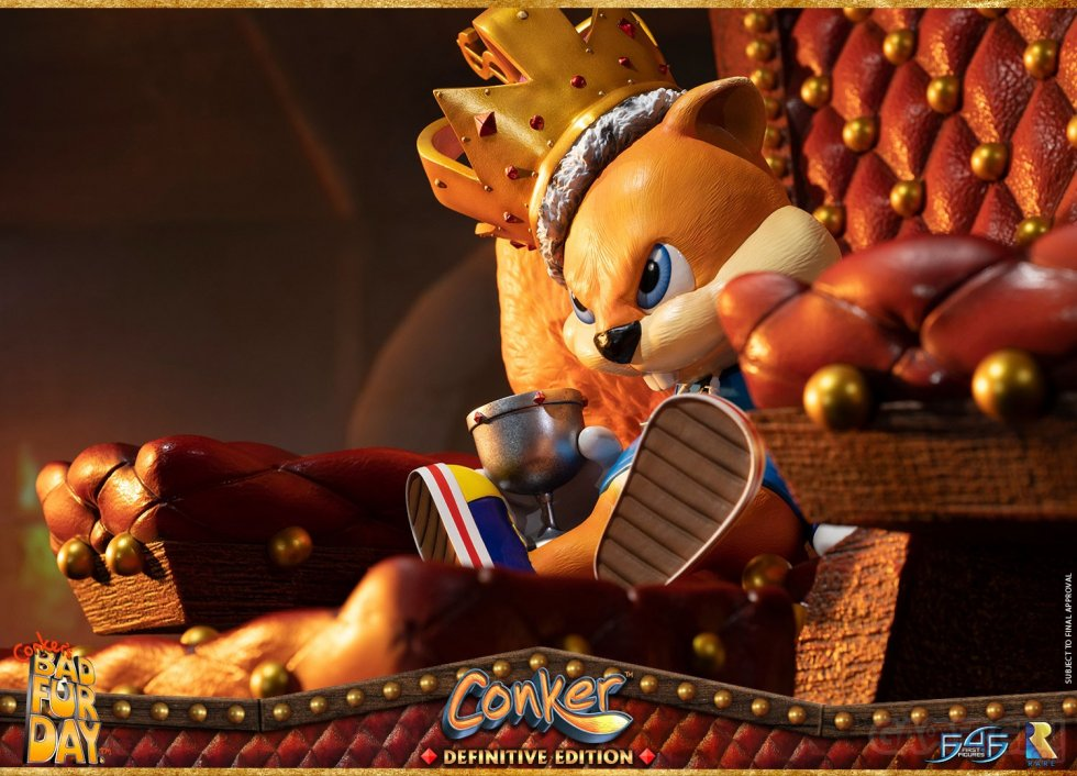 First 4 Figures Conker's Bad Fur Day figurine statuette images (11)