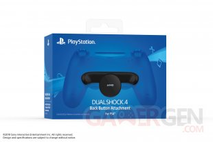 fixation dorsale  DualShock 4 manette PS4 (3)