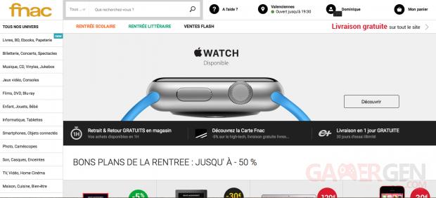FNAC Apple Watch