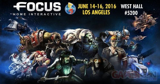 Focus Home Interactive line up E3 2016