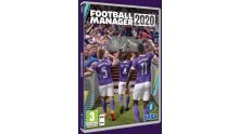 Football Manager 2020 PC Jaquette Cover
