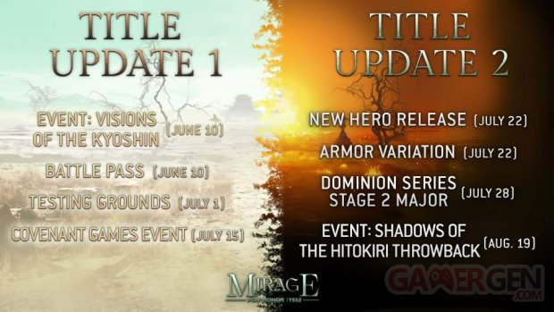 For Honor 04 06 2021 Année 5 Saison 2 Mirage calendrier date