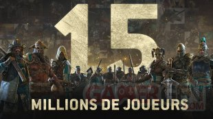 For Honor 15 millions