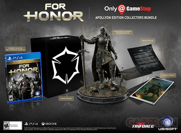 For Honor Collector GameStop.