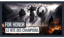 For Honor Rite des Champions head