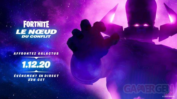 Fortnite 22 11 2020 le nœud du conflit galactus
