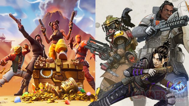 Fortnite 8 Apex Legends